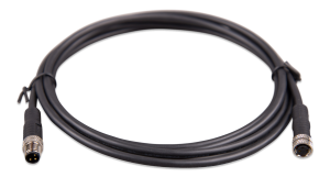 M8 circular connector Male/Female 3 pole cable 3m (bag of 2)