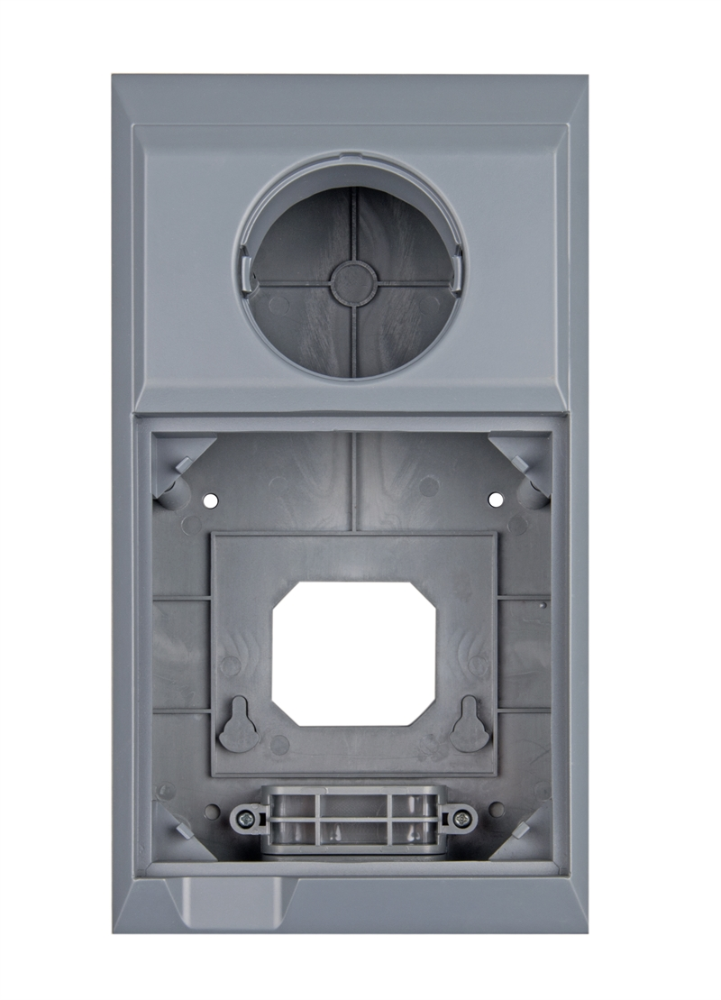 Wall mounted enclosure for Color Control GX and BMV or MPPT