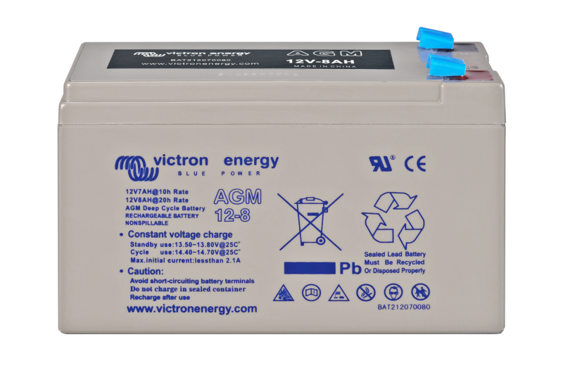 Victron - 12V/8Ah AGM Deep Cycle Batt.