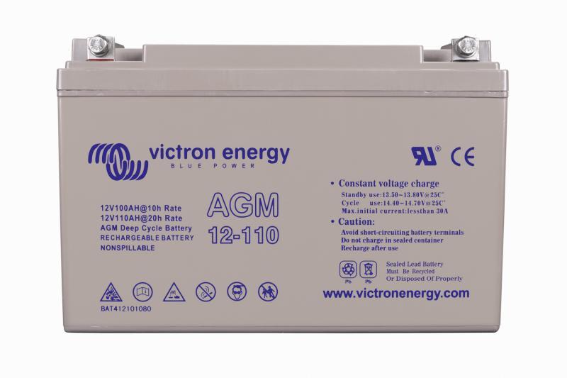 Victron - 12V/110Ah AGM Deep Cycle Batt. (M8)