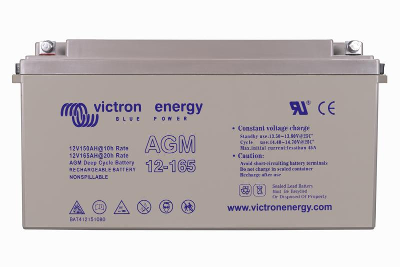 Victron - 12V/165Ah AGM Deep Cycle Batt. (M8)