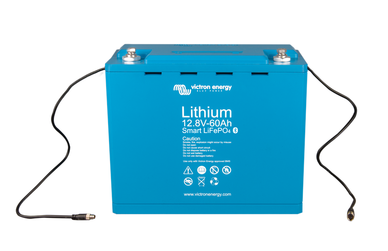 Victron - Litium Batteri -12,8V/60Ah-Smart - 0,77kWh
