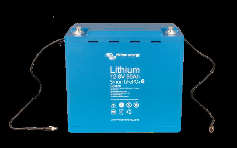 Victron - Litium Batteri -12,8V/100Ah-Smart - 1,28kWh