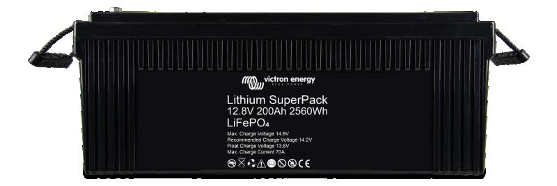 Lithium SuperPack 12,8V/200Ah (M8)