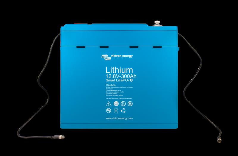 Victron - Litium Batteri - 12,8V/300Ah-Smart - 3,84kWh