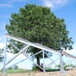 TreeSystem - 2x06 stående 60/120-cells panel 35 mm - Paket