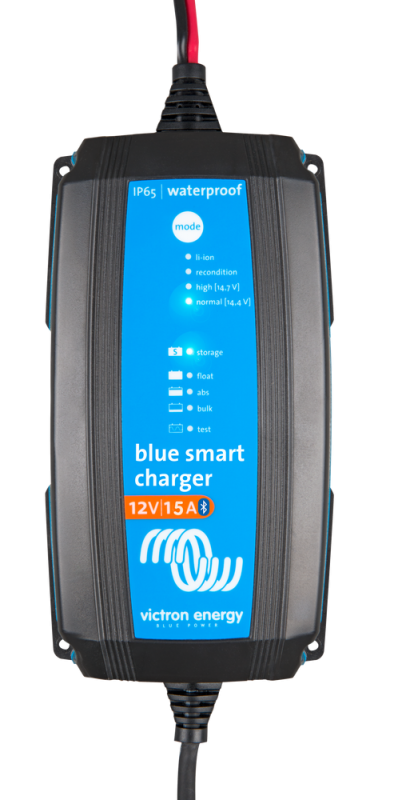 Victron - Blue Smart IP65 Charger 12/15(1) 230V CEE 7/16 Retail