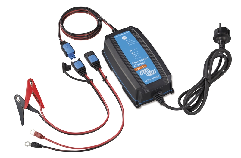 Victron - Blue Smart IP65 Charger 12/15(1) 230V CEE 7/17 Retail