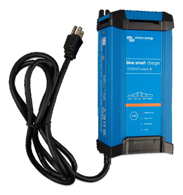 Victron - Blue Smart IP22 Charger 12/30(3) 120V NEMA 5-15