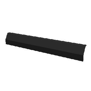 ESDEC - Vindavvisare Bakre 1600 mm, Svart