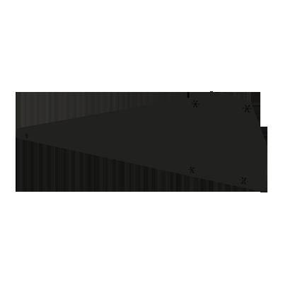 ESDEC - Vindavvisare Höger, svart