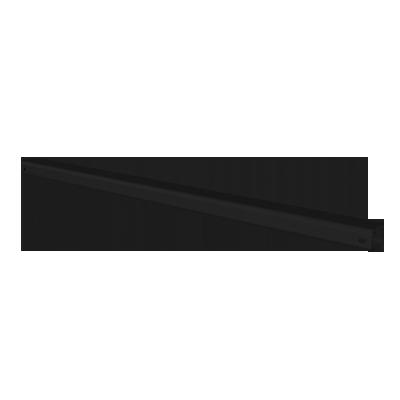 ESDEC - FlatFix Fusion Aluminiumbasprofil 210 mm, Svart