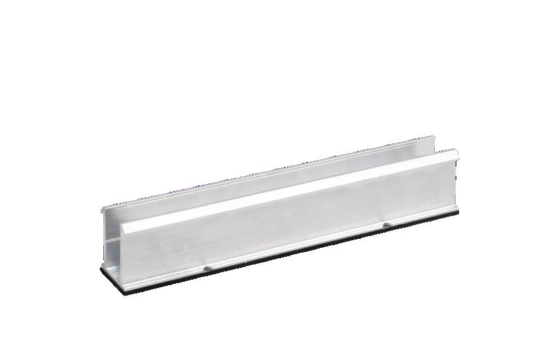 ESDEC - ClickFit EVO Installationsskena - Kort - Optimerarredo - Liggande panel