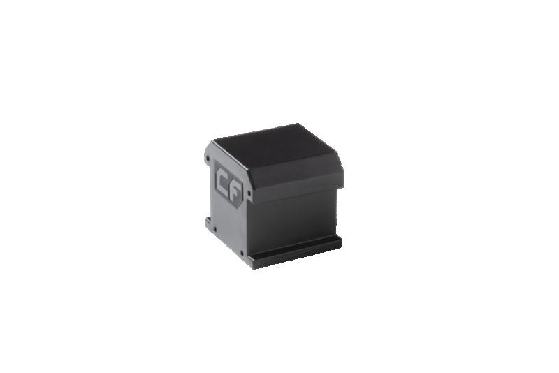 ESDEC - ClickFit EVO Ändhylsa utan ändklämstöd, svart