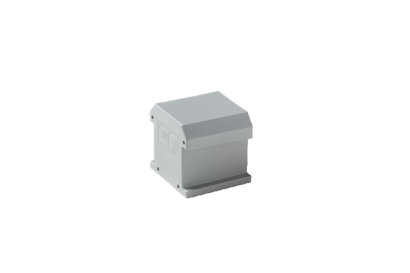 ESDEC - ClickFit EVO Ändhylsa utan ändklämstöd, grå