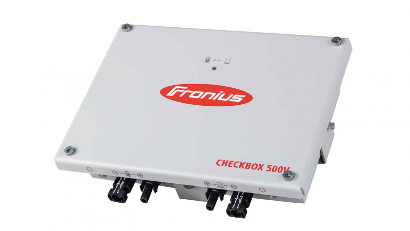 Fronius - Checkbox 500V