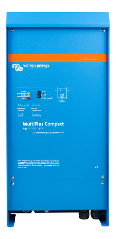 Victron - MultiPlus Compact 24/2000/50-50 120V VE.Bus