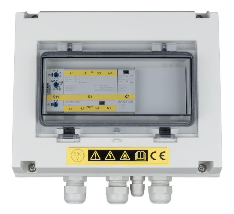 Victron - VE Transfer Switch 10KVA, 1ph, 200-250Vac