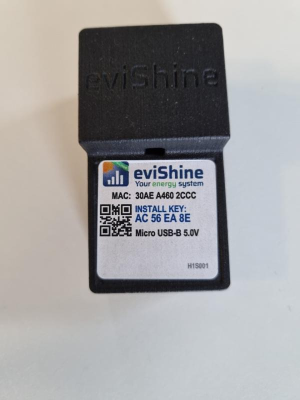 EviShine - Energimätningsomvandlare TCP IP / Modbus