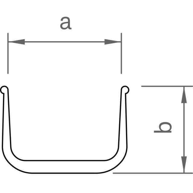 Novotegra - Fast skarv C47 - Set med 2 x skruv och AF18 låsmutter