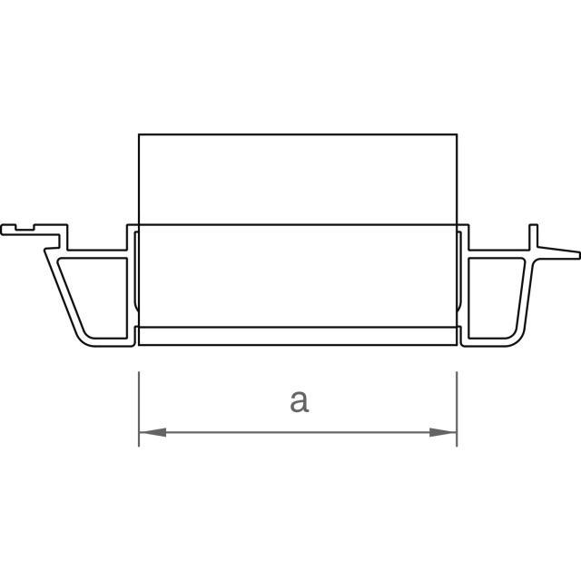 Novotegra - Panelstöd front/bas 13° 150-30 FR II