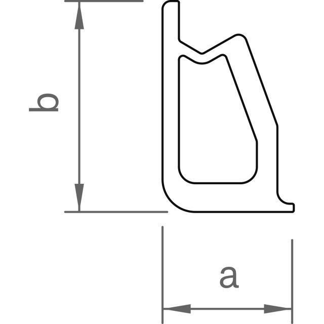 Novotegra - Inre skarv för Bastråg FR II 150-30