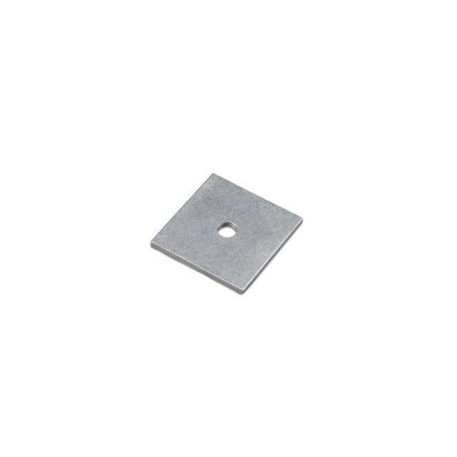 Novotegra - Platta 50x50x3 mm. Aluminium