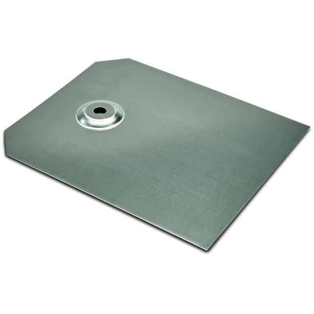 Novotegra - Metallshingel 280x230 mm. För stockskruv.