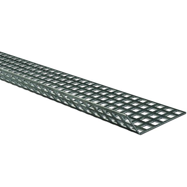 Novotegra - Perforerad skyddsplåt. Ofärgad - 1500 x 120 mm 125°