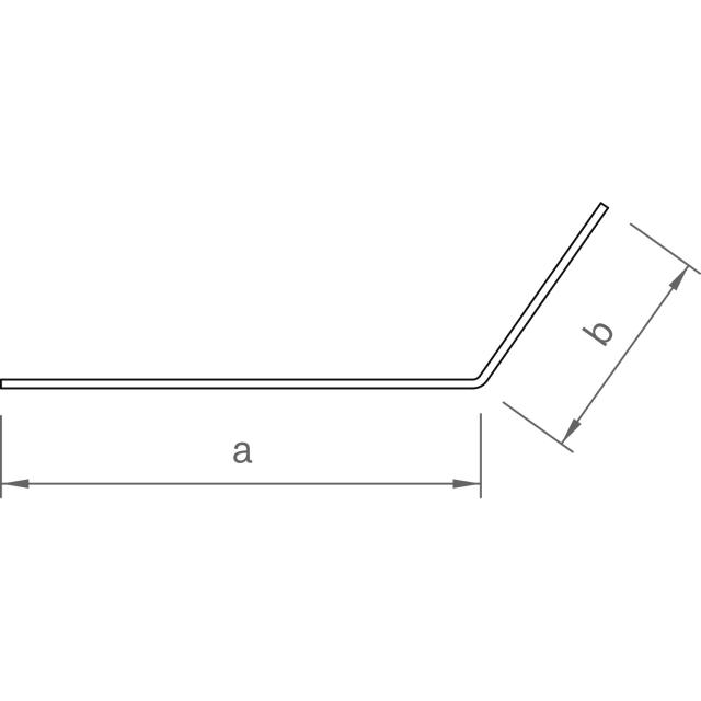 Novotegra - Perforerad skyddsplåt. Svart - 1500 x 120 mm 125°