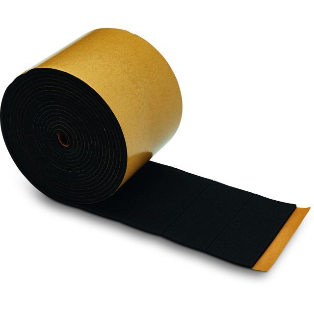 Novotegra - EPDM-rektanglar 70x28x2 mm IR - Självhäftande - 100 st/rulle