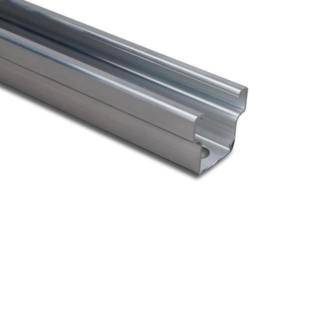 Novotegra - C-skena - C38 - 2,1 m x 38 mm