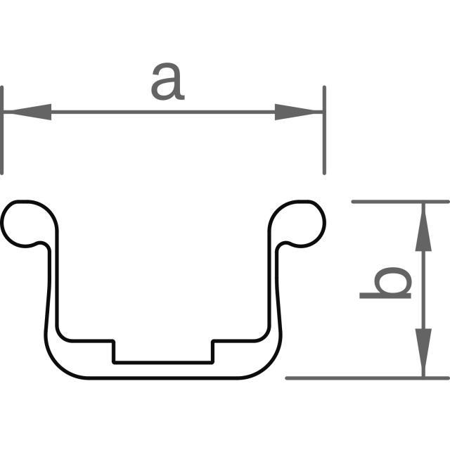 Novotegra - Fast skarv C38 - Set med 2 x skruv och AF18 låsmutter