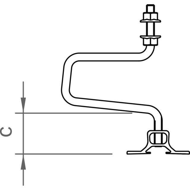 Novotegra - Tegelkrok - 30 M10