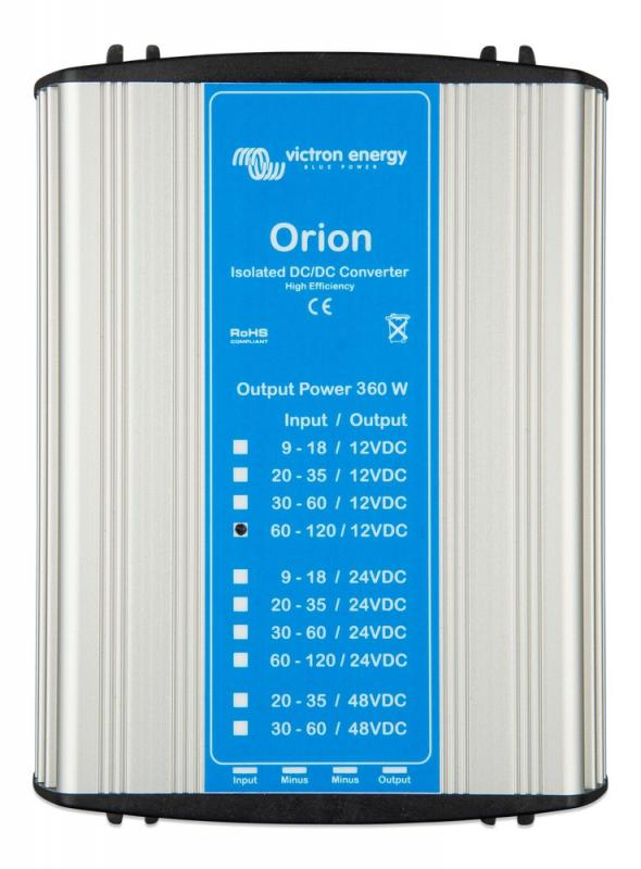 Victron - Orion 110/12-30A (360W) Isolated DC-DC converter