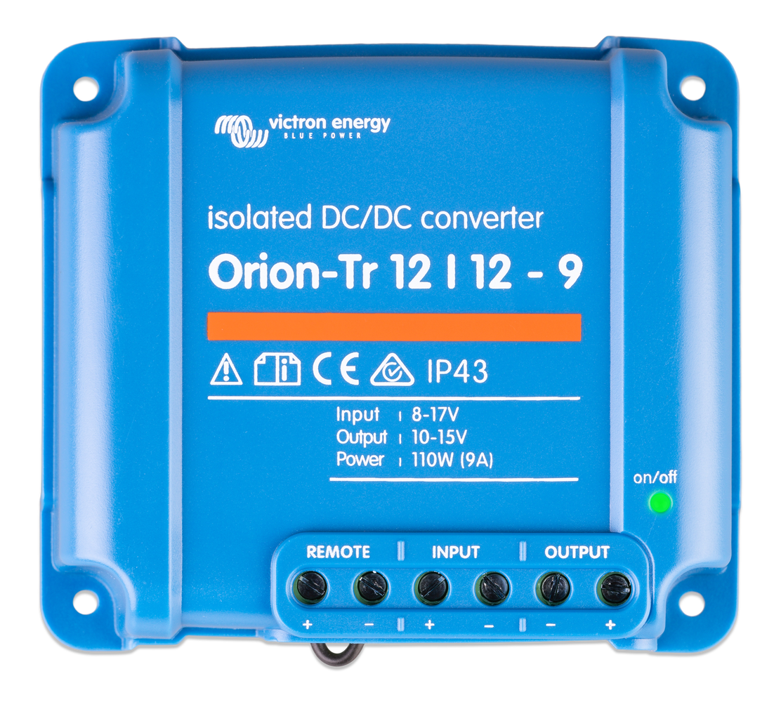 Victron - Orion-Tr 12/12-9A (110W) Isolated DC-DC converter