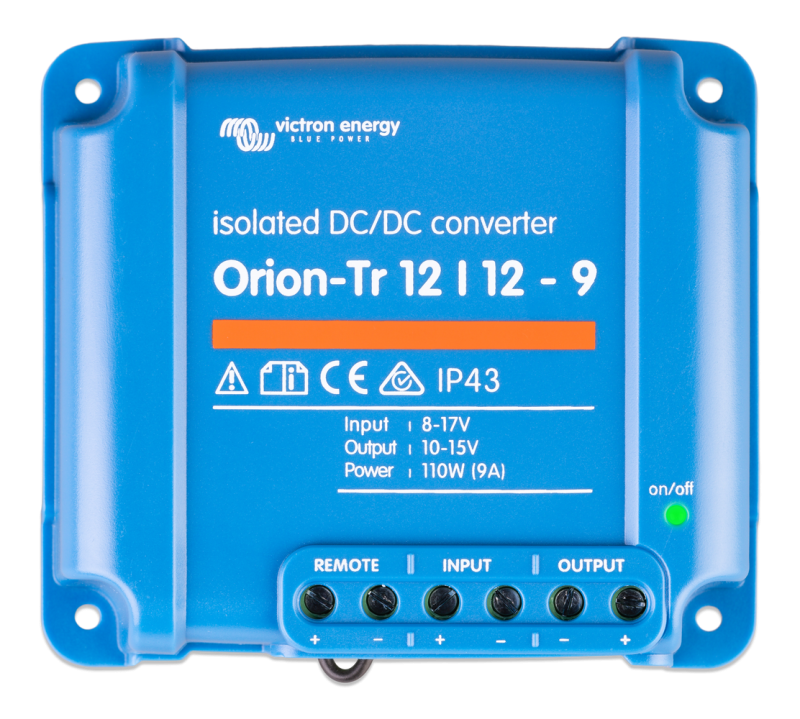Victron - Orion-Tr 12/12-9A (110W) Isolated DC-DC converter Retail