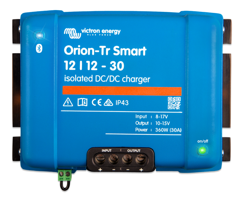 Victron - Orion-Tr Smart 12/12-30A (360W) Isolated DC-DC charger