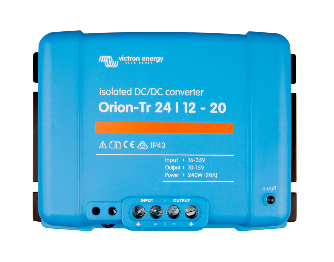 Orion-Tr 12/24-15A (360W) Isolated DC-DC converter