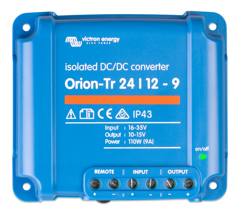 Victron - Orion-Tr 24/12-9A (110W) Isolated DC-DC converter