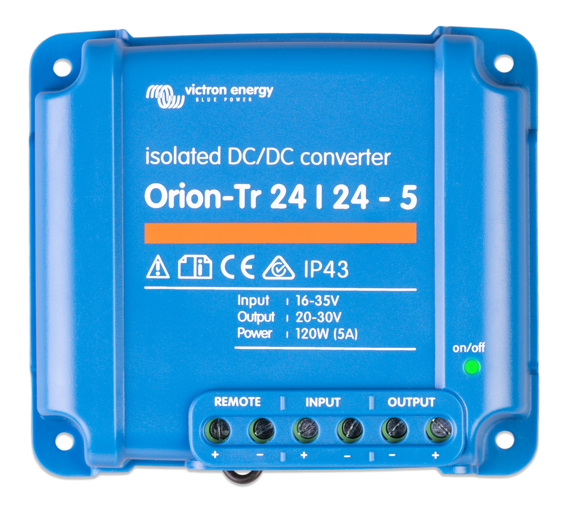 Victron - Orion-Tr 24/24-5A (120W) Isolated DC-DC converter