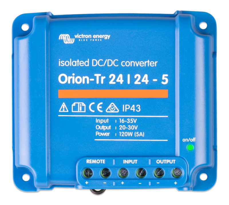 Victron - Orion-Tr 24/24-5A (120W) Isolated DC-DC converter Retail