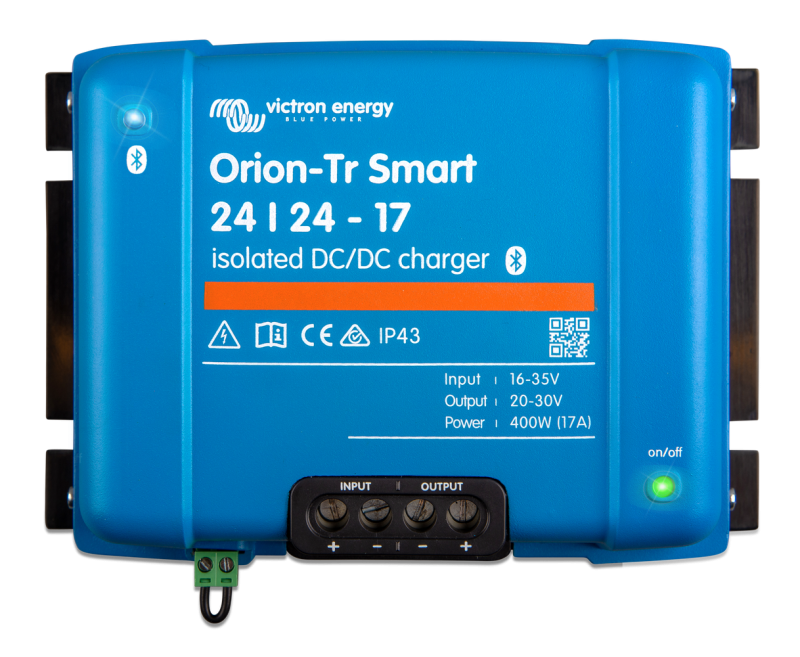 Victron - Orion-Tr Smart 24/24-17A (400W) Isolated DC-DC charger