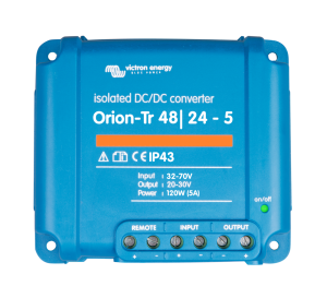 Orion-Tr 48/12-9A (110W) Isolated DC-DC converter