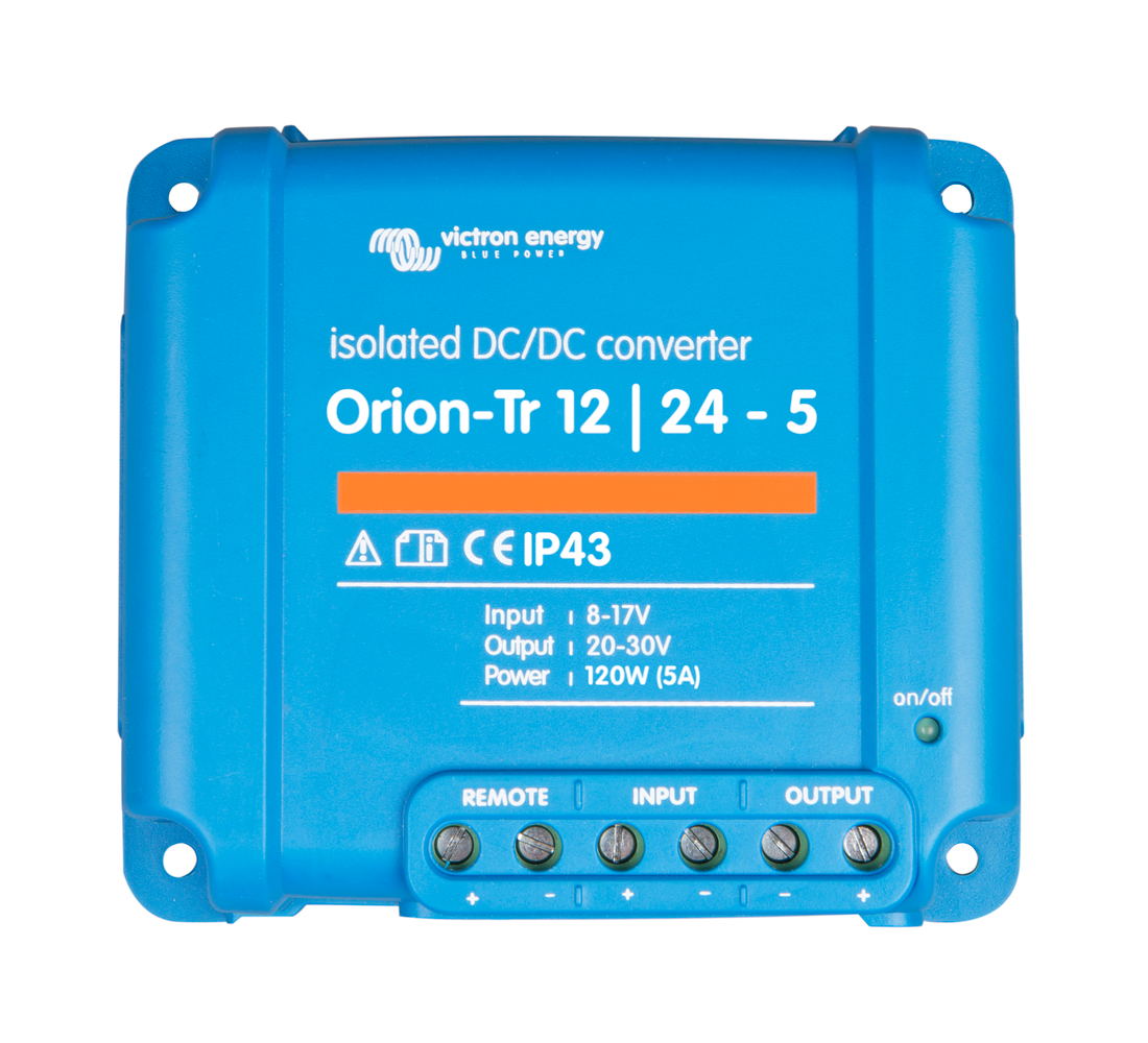 Orion-Tr 48/48-2,5A (120W) Isolated DC-DC converter