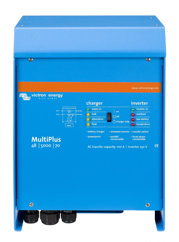 Laddare & Växelriktare - Victron - MultiPlus 24/5000/120-100