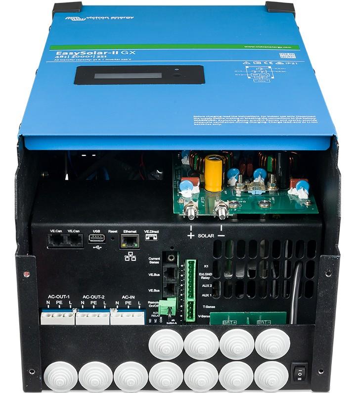 Laddare & Växelriktare - Victron - EasySolar-II GX 48/3000/35-32