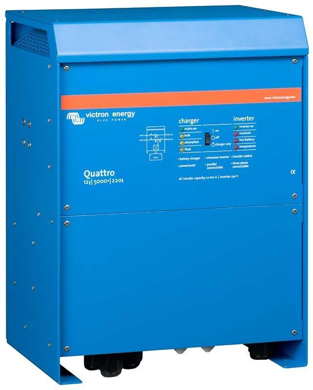 Victron - Quattro 12/5000/220-100/100