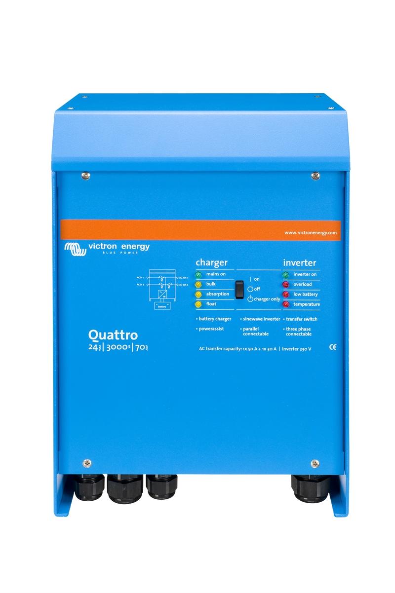 Victron - Quattro 24/3000/70-50/50