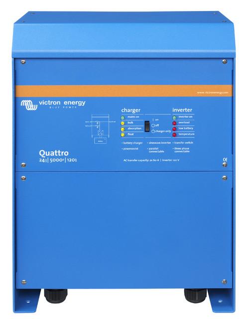 Växelriktare/Laddare - Victron - Quattro 24/5000/120-100/100